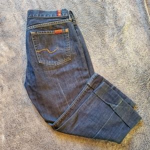 7 for All Mankind Capris Bootcut sz 30